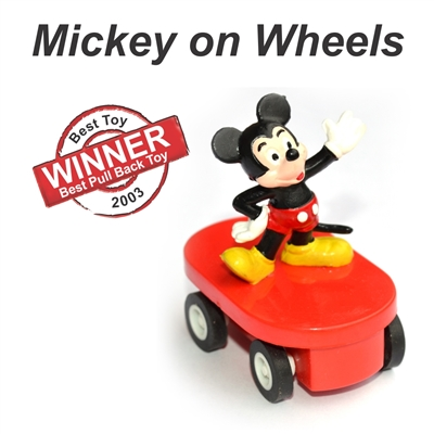 Best Pull Back Toy  - 2003 - Mickey on Wheels