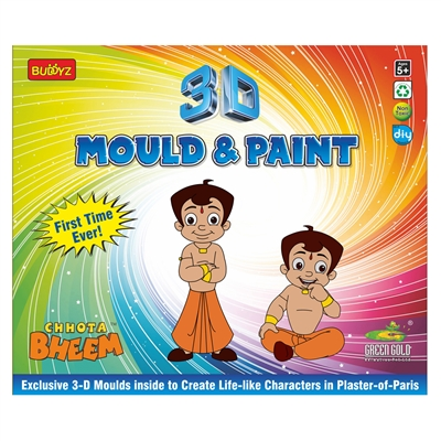Chhota Bheem 3D Mould & Paint - MRP Rs. 260/-