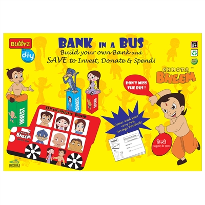 Chhota Bheem Bank in a Bus - MRP Rs. 299/-