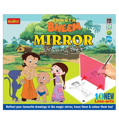 Chhota Bheem Mirror Drawing - MRP Rs. 260/-