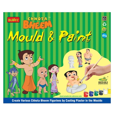 Chhota Bheem Mould & Paint - MRP Rs. 260/-
