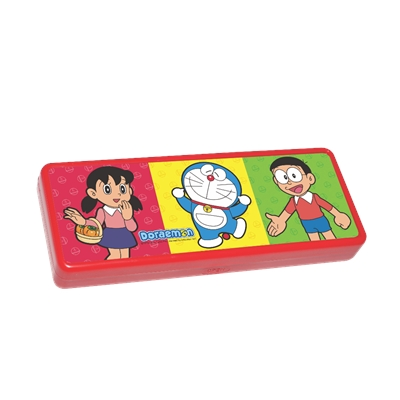 Doraemon 3D Pencil Box - Red