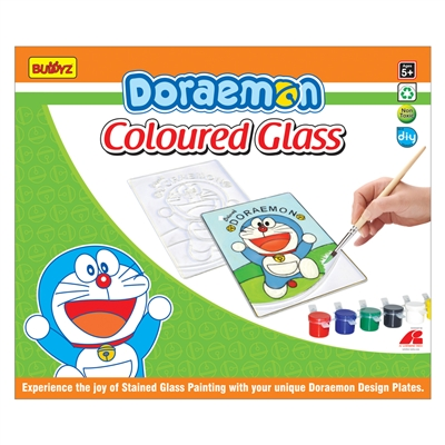 Doraemon Coloured Glass - MRP Rs. 260/-