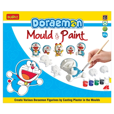 Doraemon Mould & Paint - MRP Rs. 199/-