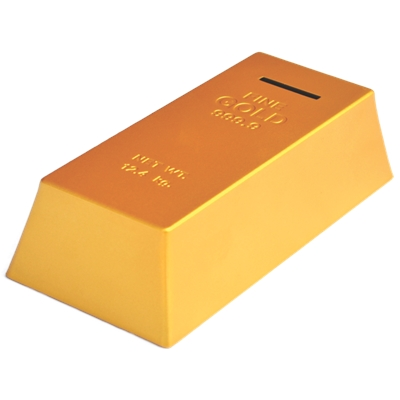 Gold Bar coin Bank - MRP Rs.149/-