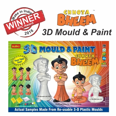 Make in India NPC Award - 2016 -Chhota Bheem 3D Mould & Paint
