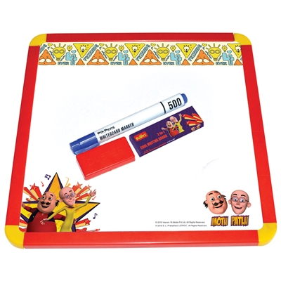 Motu Patlu Cool Writing Board - MRP Rs. 249/-