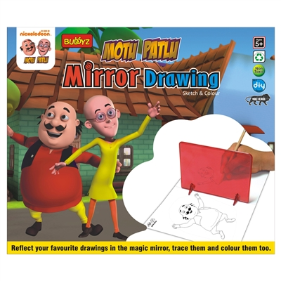 Motu Patlu Mirror Drawing - MRP Rs. 199/-