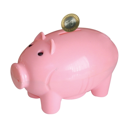 Pig-Shaped Coin Bank - MRP Rs. 126/-