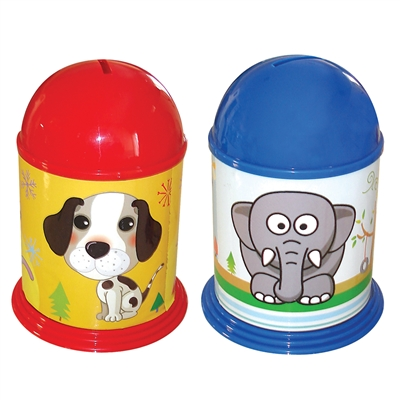 Stickerized Coin Bank - MRP Rs. 158/-